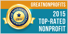 Greatnonprofits top rated status 2015