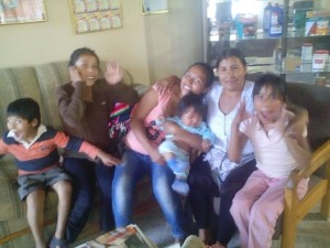 Herminia etc with Aunt Francisca